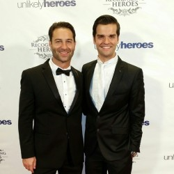 Actor Danny Fehsenfeld hosts Unlikely Heroes Charity Gala